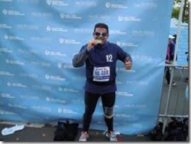 colori del Salento hanno varcato la finishline di una maratona