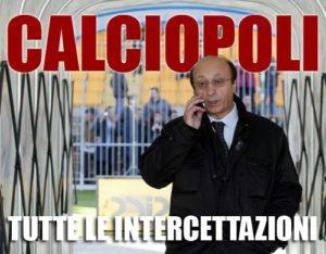 calciopoli intercettazioni moggi inter