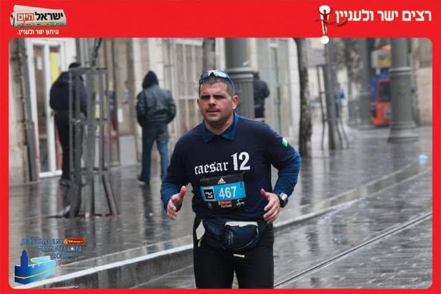 Maratona Gerusalemme, la terza medaglia