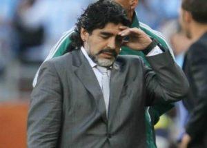 Diego Maradona ha pensato al suicidio perché perseguitato dal Fisco