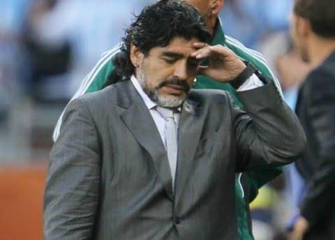 Povero Maradona tartassato da Equitalia
