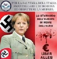 Draghi smentisce la politica economica della Merkel