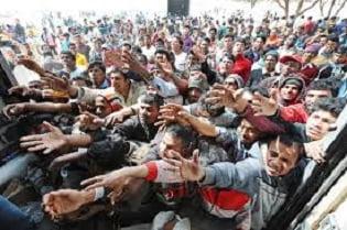 I migranti e la Ong 'Lo sbarco dei mille'