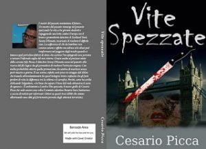 la cover cartacea del thriller vite spezzate