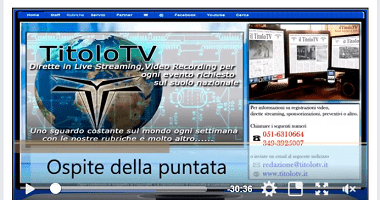 Cesario Picca e Saru Santacroce su TitoloTv