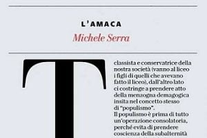 Il bullismo e la diseducazione radical chic di Serra