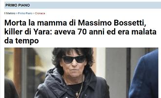 Bossetti, per Il Mattino niente presunzione di innocenza