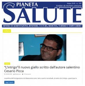 Segnalazioni e recensioni giallo L'intrigo sulla Massoneria