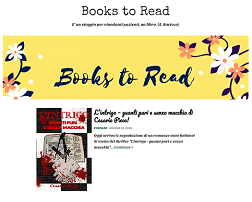 Il giallo L'intrigo sul blog Books to Read