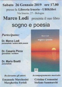 La presentazione del libro di poesie di Marco Lodi